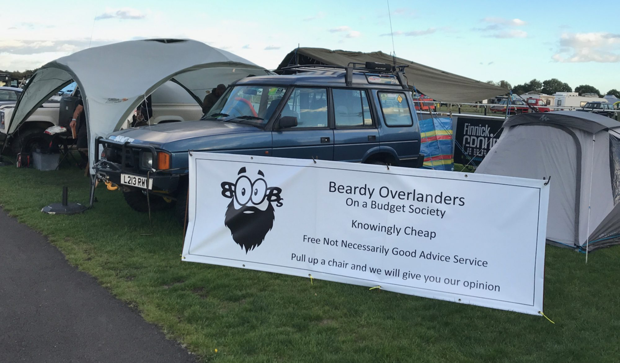 Beardy Overlanders On a Budget Society