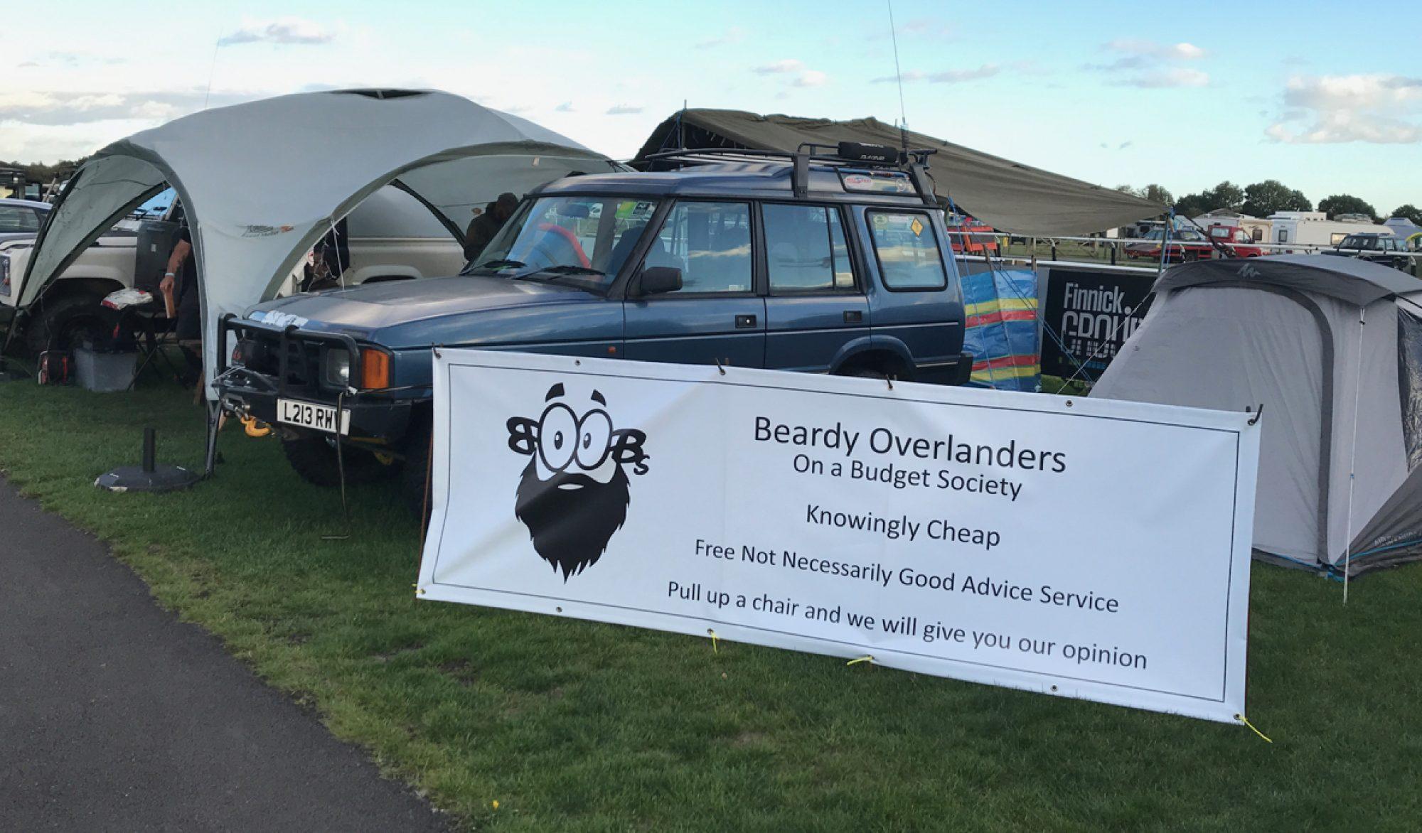 Beardy Overlanders On a Budget Society